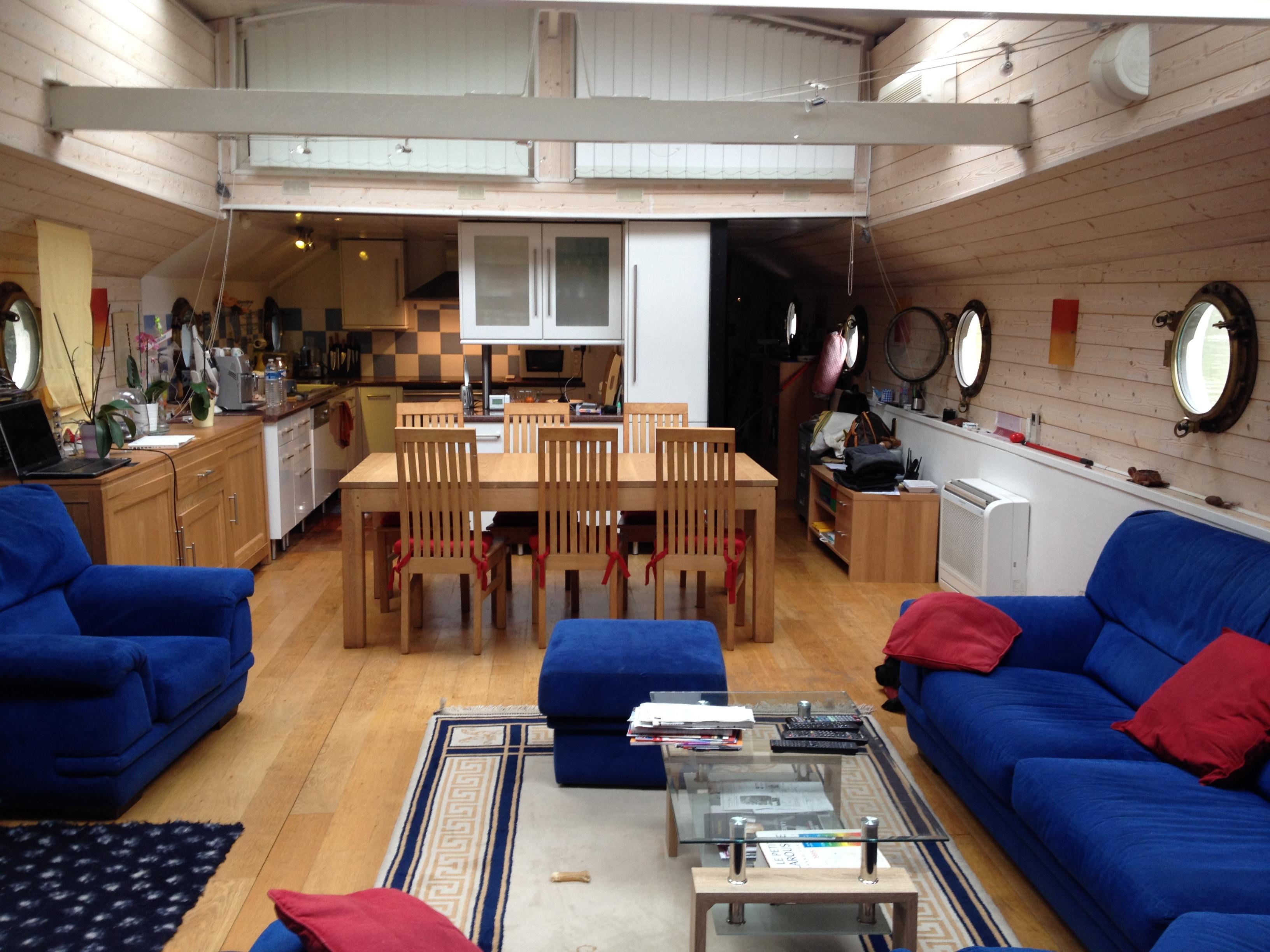 p niche d 39 habitation type freycinet 94 seine plus sp cialiste du bateau logement p niche. Black Bedroom Furniture Sets. Home Design Ideas