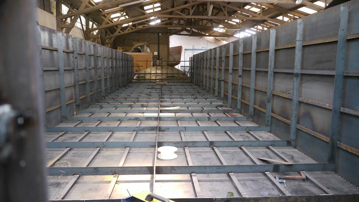 P niche neuve habitation naviguante de type korrigane 19 for Prix construction neuf